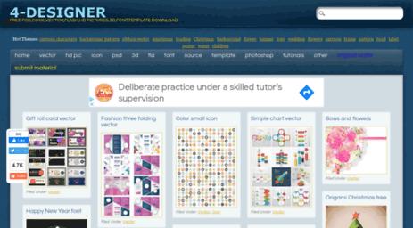Visit 4-designer.com - 4-Designer | Free PSD,Code,Vector,FLASH,HD ...