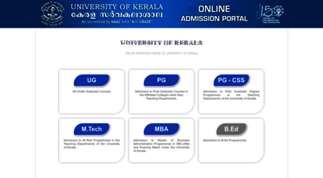 admissions.keralauniversity.ac.in
