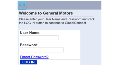 Gm global connect vsp login