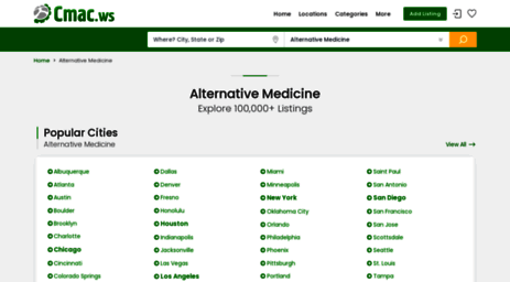 alternative-medicine-companies.cmac.ws