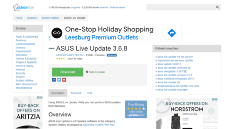 asus live update latest version download