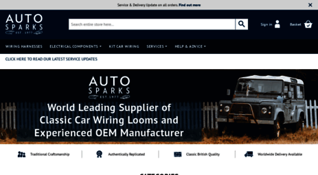 visit autosparks co uk wiring looms and vehicle wiring products rh links giveawayoftheday com classic vehicle wiring products vehicle wiring products ebay