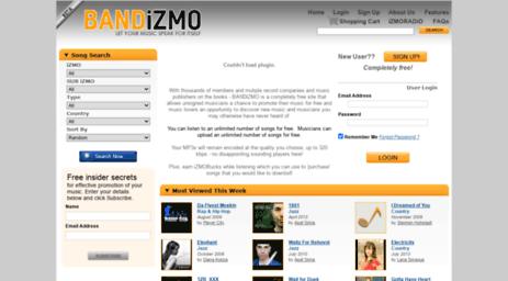 Visit Bandizmo com - BANDiZMO :: Free Music Promotion For Unsigned