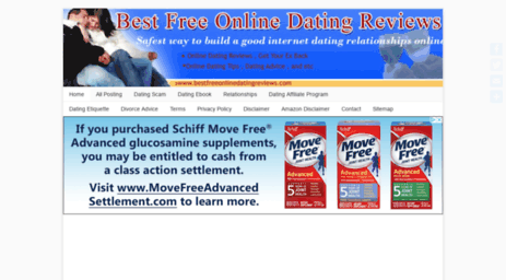 free dating site advice