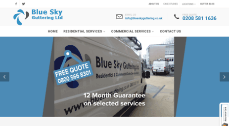 blueskygutters.co.uk