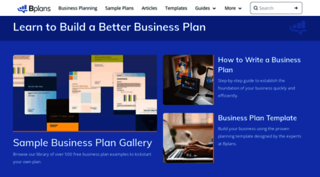 Visit bplans bplans business planning resources and free bplans offers free business plan samples and templates business planning resources how to articles financial calculators industry reports and flashek Gallery