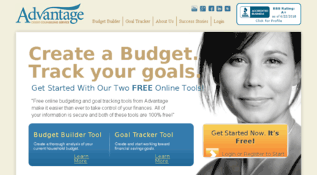 visit budgetadvisor net free online budgeting and goal tracking