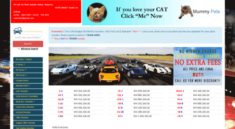 Visit Buycarplatecom  Malaysia Car Plate Number Online Malaysia
