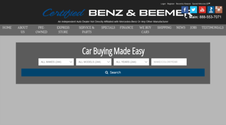 Serving The Greater Phoenix And Scottsdale, AZ Area, Certified Benz And  Beemer Is The Place To Purchase Your Next Vehicle. View Photos And Details  Of Our ...