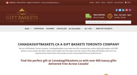canadasgiftbaskets.ca. Canadasgiftbaskets.ca a Gift Baskets Toronto Company .