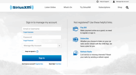 Visit careriusxm manage your siriusxm account sign in visit careriusxm manage your siriusxm account sign in convert from a trial or activate a radio publicscrutiny Images