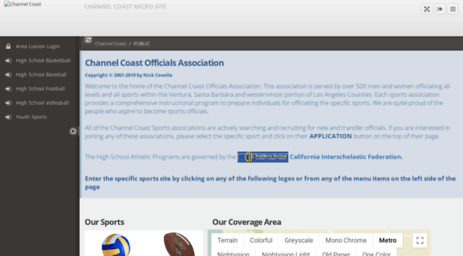 channelcoastofficials.org