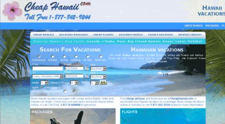 Visit Cheaphawaiicom Hawaii Vacations Cheap Hawaiian Vacation - Hawaii vacation packages cheap