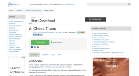 télécharger chess titans
