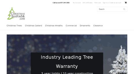 Visit Christmastreeforme.com - PVC Free Christmas Trees | 100% PE ...