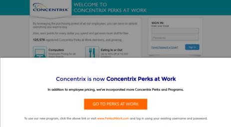 convergys corporateperks com