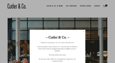 Cutlerandcoau Most Visited Pages Cutler Co