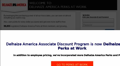 My Perks At Work >> Visit Delhaize Corporateperks Com My Rewards Every Day Perks At Work
