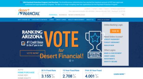 Visit Desertschools Org Local Credit Union In Arizona Desert