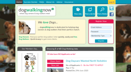 dogwalkingnow.co.uk