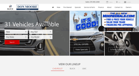 Donmoorechevy.com: Don Moore On 54 In Owensboro   Henderson Chevrolet, Buick,  GMC U0026 Used Car Dealer Online