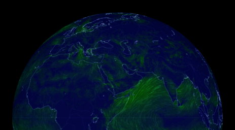 Visit Earth Nullschool Net Earth A Global Map Of Wind Weather