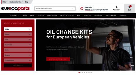 Visit Europapartscom Audi Parts Volkswagen VW Parts Porsche - Audi parts online