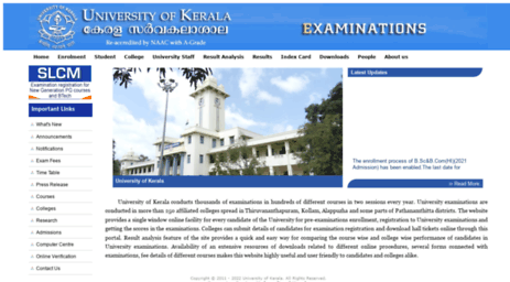 exams.keralauniversity.ac.in