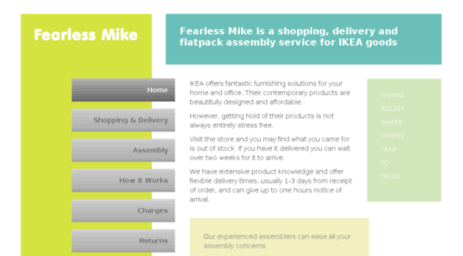 Fearlessmike.com: Fearless Mike   Ikea Furniture Assembly Service   Delivery  From Store Available Offline