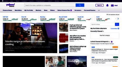 Yahoo Finance Business Finance Stock Market Quotes News   Visit Finance Yahoo Com Yahoo Finance Business Finance Stock