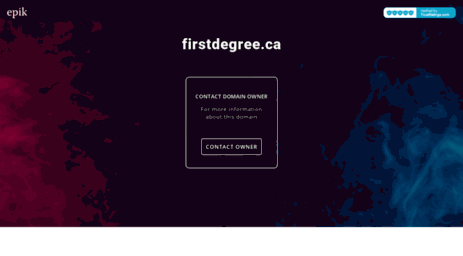 firstdegree.ca