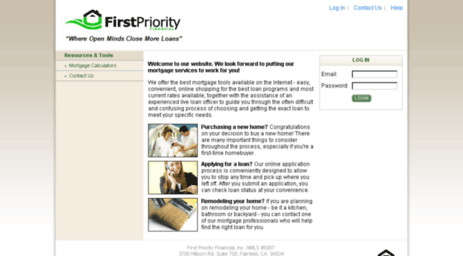 firstpriorityfinancial.mortgage-application.net