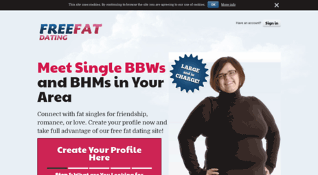 free dating site fat