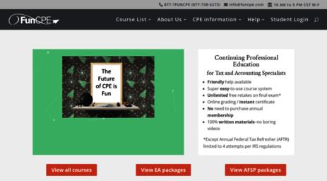 funcpe Visit Funcpe.com - CPE courses-CPAs
