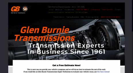 Glen Burnie Transmission >> Visit Gbt Online Com Transmission Replacement And Repair