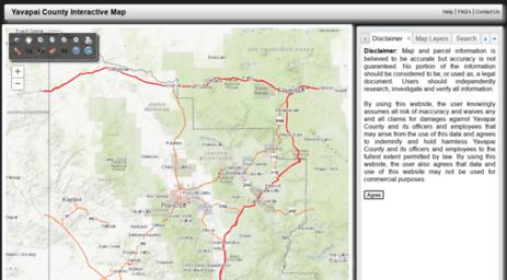 Visit Gis.yavapai.us - Interactive Map.