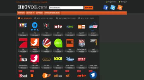 Visit Hdtvde.com - Live Stream Kostenlos Ohne Anmeldung