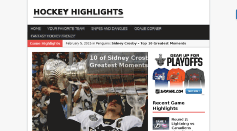 hockeyhighlights.ca