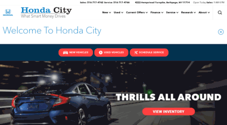 If Youu0027ve Been Asking, U201cWhere Is A New And Used Honda Dealer Near Me?u201d  Visit Honda City In Levittown, NY, Serving Long Island, And Complete Your  Car Buying ...