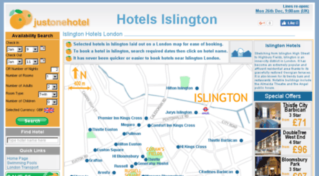 hotelsislington.co.uk