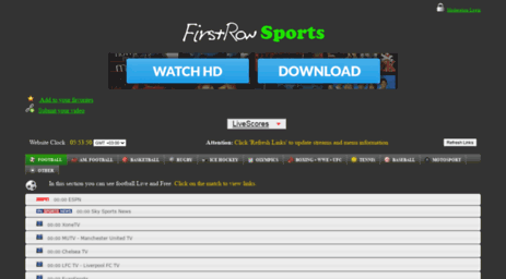 firstrow live football stream