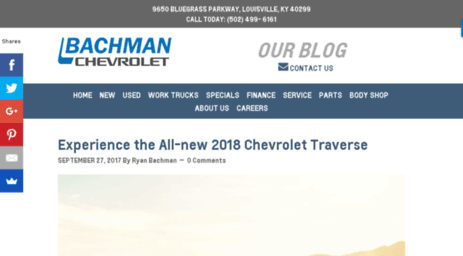 Info.bachmanchevrolet.com: Bachman Chevrolet   Bachman Makes The  Difference! Online