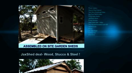 Attirant Jaxshed.com: Florida Jacksonville Storage Sheds And Portable Buildings    Home Online