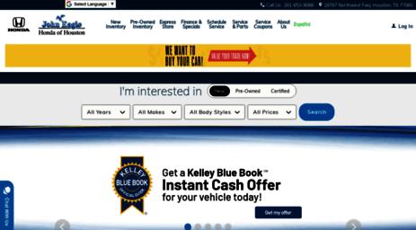 Johneaglehonda.com: New And Used Honda In Houston | John Eagle Honda Of  Houston Online