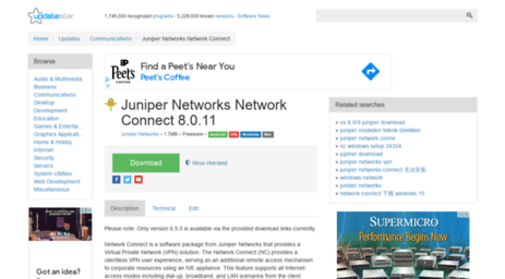 Juniper Networks Network Connect Updatestar Com
