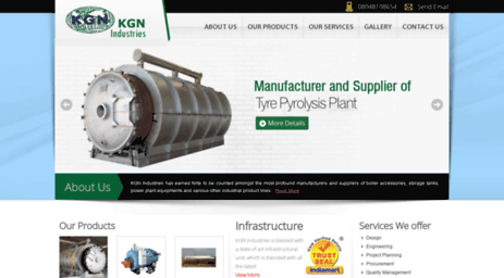 kgnindustries.in