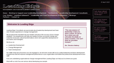 leadingedge-consultants.co.uk