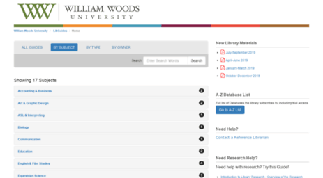 libguides.williamwoods.edu