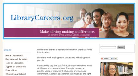 Visit Librarycareersdrupalgardenscom LibraryCareersorg Make