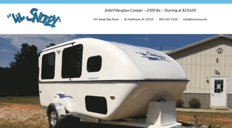 Visit Lilsnoozy Com Small Travel Trailer Small Campers Lil Snoozy